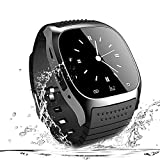 Smart Watch Bluetooth Smartwatch Phone Touch Screen Smart Wrist Watch Sport Fitness Tracker Pedometer Sleep Monitor All Functions Match for IOS iPhone 6S Plus 7 8 and Android Smart Phones Men Women