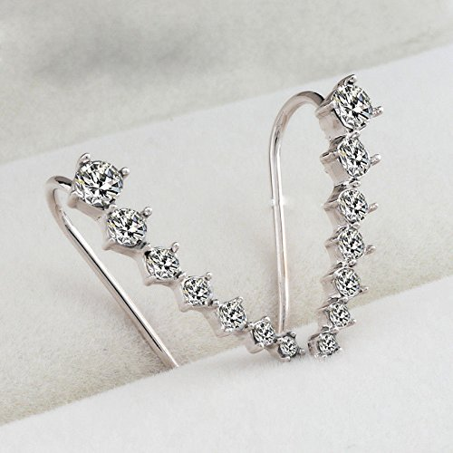 women-fashion-rhinestone-silver-crystal-earrings-ear-hook-stud-jewelry-gift-new-silver