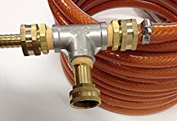 Quick Chill Counter Flow Wort Chiller with Garden Hose Fittings 25 Feet