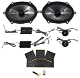 6 x 8 component speakers package - KICKER 43CSS684 6x8