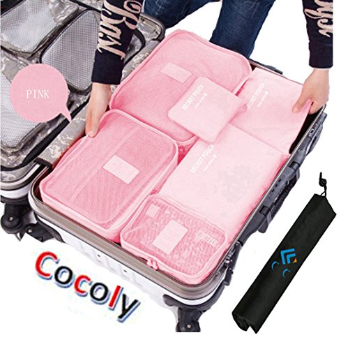 Cocoly-7pcs-travel-Organizers-Packing-Cubes-Luggage-Organizers-Compression-Pouches