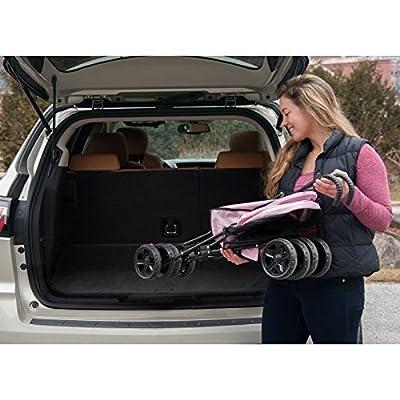 """Pet Gear Ultra Lite Travel Stroller, Compact, Large Wheels, Lightweight, 38"""" Tall"""