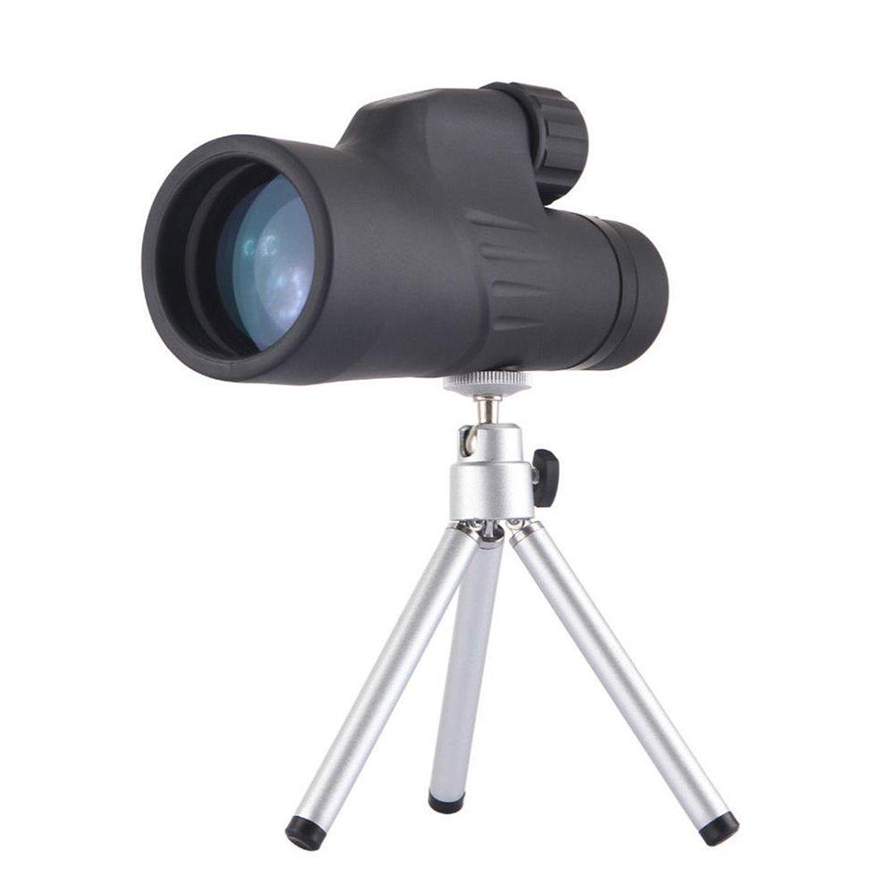 12 x 50 Monocular telescope-光学式構造は、最高の明るさとクラリティ- One Hand focus-防水、Suit for cell-便利携帯電話、iPhone 6用のアクセサリをTake on Concert B07689SDQ5