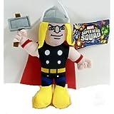 "Officially Licensed Marvel Super Hero Squad Avengers Thor Plush 8"" Tall."