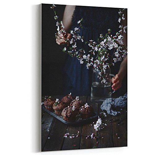 Westlake Art - Flower Plant - 16x24 Canvas Print Wall Art - Canvas Stretched Gallery Wrap Modern Picture Photography Artwork - Ready to Hang 16x24 Inch ()