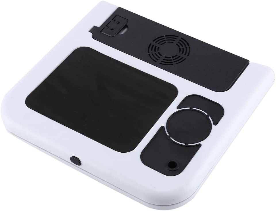 Table de souris avec ventilateurs de refroidissement USB design ergonomique confortable pour une utilisation confortable comme un lit Support pour ordinateur portable