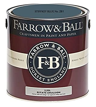 Farrow Ball Estate Emulsion 25 Liter Stiffkey Blue No 281