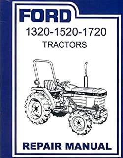 ford 1320 1520 1620 1715 1720 tractor service manual ford rh amazon com Ford Diesel Tractor Wiring Diagram Ford Jubilee Tractor Wiring Diagram