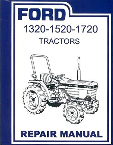 ford 2000 tractor service manual - 4