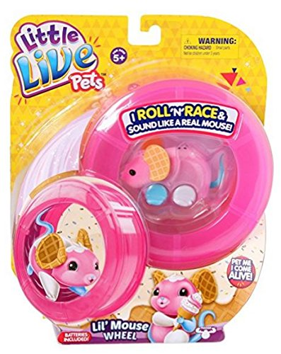 Little Live Pets Lil' Mouse Wheel - Waffles