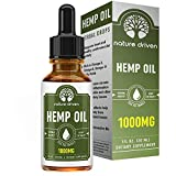 Hemp Oil Extract (1000MG) :: Premium Drops :: Delicious Peppermint Flavor :: Promotes Relaxation :: Contains Omega 3 and 6 Fatty Acids :: Nature Driven Review