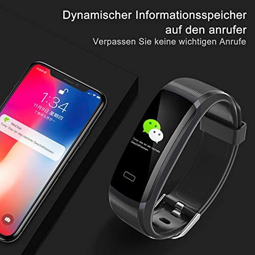 seegar Pulsera Actividad, Rastreador de Actividad Personalizado con Monitor de Ritmo cardíaco y sueño, Contador de Pasos, rastreo de rutas, GPS, ...