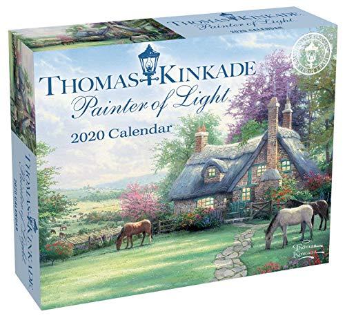 Thomas Kinkade Painter of Light 2020 Day-to-Day Calendar