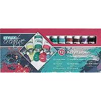 Stylex 12 ml Tubos de Pintura acrílica (12