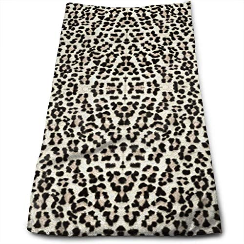 Towel Nickel Purist (Snow Leopard Bigger and Better Bath Towels for Bathroom-Hotel-Spa-Kitchen-Set - Circlet Egyptian Cotton - Highly Absorbent Hotel Quality Towels)
