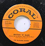 The McGuire Sisters 45 RPM Rhytm 'N' Blues / Something's Gotta Give