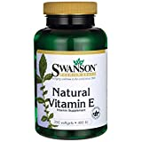 Swanson Natural Vitamin E 400 Iu (268.5 mg) 250 Sgels