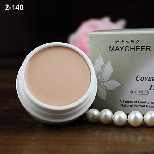 (Concealer Cream gLoaSublim Cosmetic Beauty Makeup Tool Black Eyes Acne Scars Foundation Cream Concealer - 140)