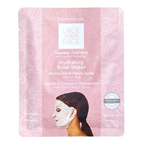 Dermovia Lace Your Face Hydrating Rose Water Compression Fac