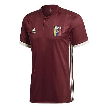 adidas Venezuela Camiseta de Equipación, Hombre, Rojo (Buruni/blacre), XS: Amazon.es: Deportes y aire libre