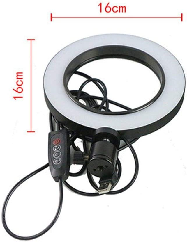 Tinffy Broadcast Live Photography Fill Light LED Camera Phone Flash Dimmable Light On-Camera Video Lights