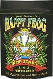 FoxFarm FX14032 4-Pound FoxFarm Happy Frog Jump Start Fertilizer 3-4-3