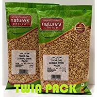 Natures Choice Lentils Toor Dal - 500 gms (Pack of 2)