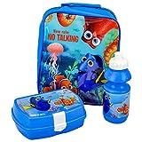 Disney 4105V-6178 Bag/Sandwich Box and Bottle Pixar Finding Dory Lunch Set (3-Piece)