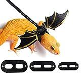 KWANITHINK Adjustable Bearded Dragon Leash Leopard