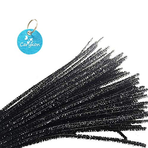 (Caryko Tinsel Creative Arts Chenille Stems 6 mm x 12 Inch, Pack of 200)