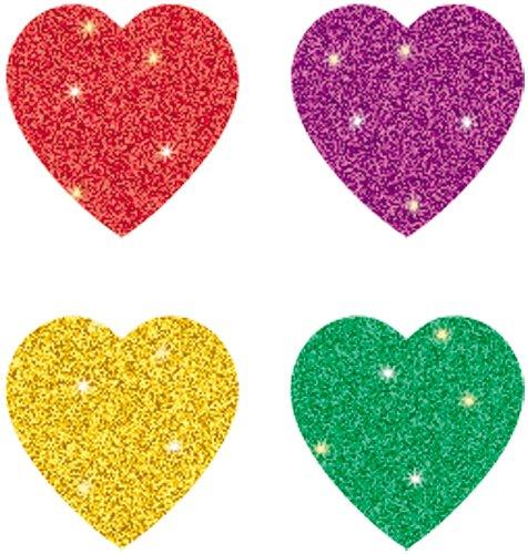 Carson Dellosa Hearts, Multicolor Chart Seals (2141)