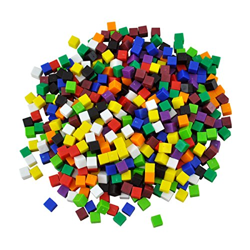 Assessment Services, Inc.- Centimeter Cubes Set of 1000 - Cubes Centimeter