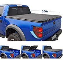 Tyger Auto T3 Tri-Fold Truck Tonneau Cover TG-BC3F1041 Works with 2015-2019 Ford F-150   Styleside 5.5' Bed (Renewed)