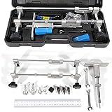 Lock Mortiser, Mortice Lock Fitting Jig Door Lock Mortiser Kit 90mm Perforator Folder Tool with Case (USA Stock)