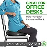 Gaiam Balance Disc Wobble Cushion Stability Core