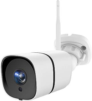 Opinión sobre NETVUE Cámara de vigilancia Exterior, 1080P, WiFi, cámara Exterior IP66, Resistente al Agua, cámara de Seguridad Alexa con visión Nocturna