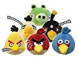 Angry Birds Plush 5-Inch Red Bird with Sound (Discontinued by manufacturer)