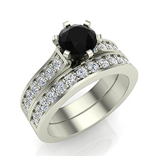 1.50 ct tw Black Diamond Weddi