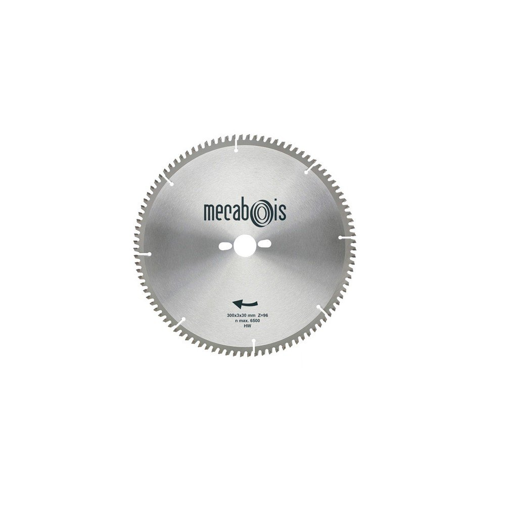 Sidamo–Klinge Wolframcarbid NE3D. 350x 3,4x 30mm Z 108TP nég.–Aluminium/Zink/Kupfer/Nickel/Kunststoff–290198