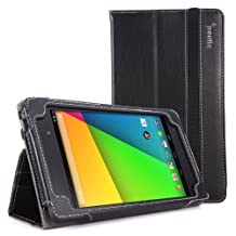 Poetic Slimbook Case for Google Nexus 7 2nd Gen 2013 Android Tablet Black (3 Year Manufacturer Warranty From Poetic)