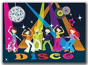 Einladungskarten Kindergeburtstag Disco Tanzen Party Spaß Jungen Mädchen    12 Stück Jungs Girls Karaoke Einladung Geburtstagseinladung