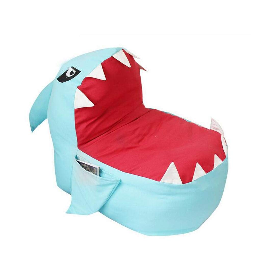 Amazon Com Large Giant Huge Shark Bean Bag Chairs Cover Stuffed