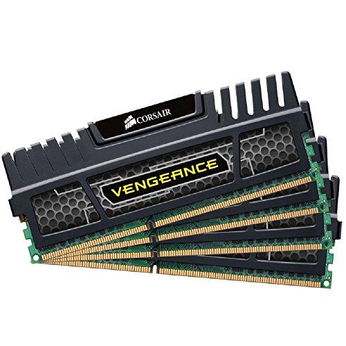 Corsair Memory Vengeance 16 Dual Channel Kit DDR3 1600 MHz 240-Pin DDR3 SDRAM (Wii Deluxe Kit)