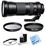 Tamron SP 150-600mm F/5-6.3 Di VC USD Zoom Lens for Canon includes Bonus Xit 95mm Multicoated UV Protective Filter and More