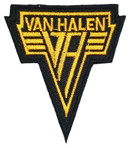 1 X VAN Halen Songs 1984 Logo T Shirts Mv05 Embroidery Iron on Patches Size: 3x2.5 Inches (7.5x7 Cm) - Iron On Patches Monkey