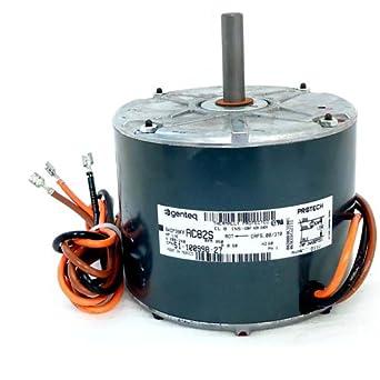 oem upgraded ge genteq rheem ruud weather king 1/5 hp 460v condenser fan  motor: electric fan motors: amazon com: industrial & scientific
