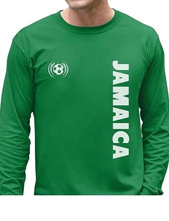 innovative design 05d74 52f42 Amazon.com: TeeStars - Jamaica National Football Team Soccer ...