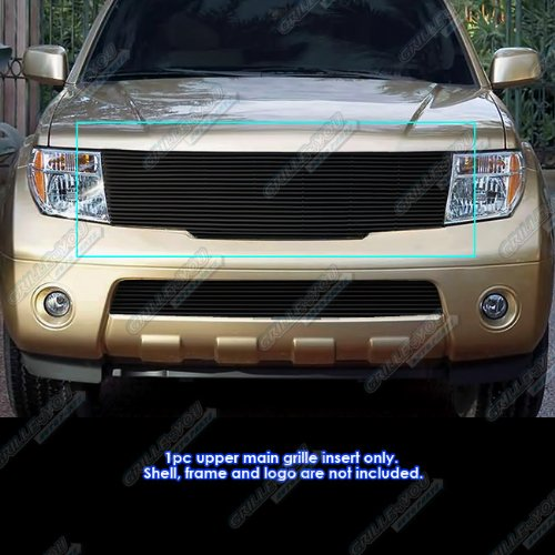 APS N85543H Black Powder Coated Grille Replacement for select Nissan Pathfinder Models