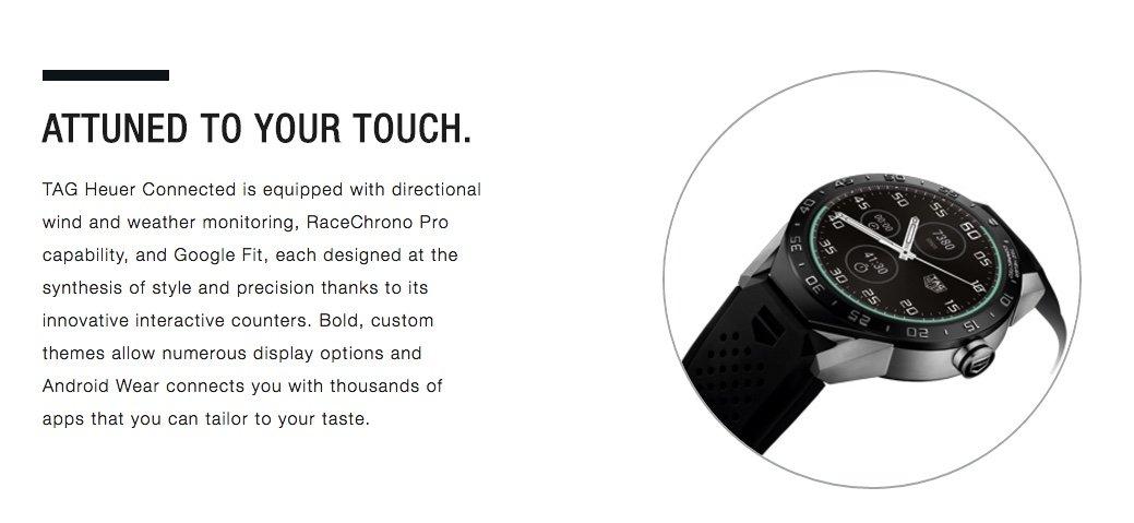 TAG Heuer Conectado Reloj Inteligente (Android/iPhone ...