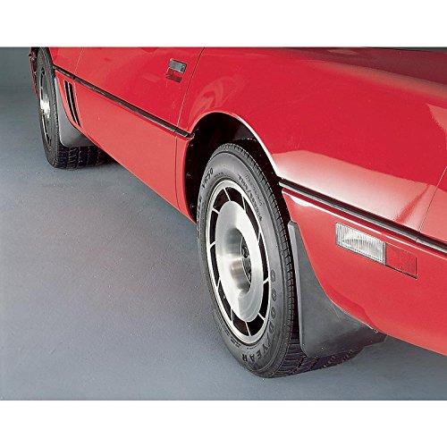- Eckler's Premier Quality Products 25120998 Corvette Splash Guards Body Contoured Rear Matte Black Altec